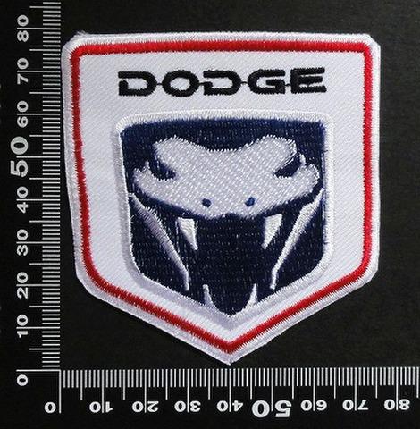 ダッジ  DODGE ワッペン パッチ   00392