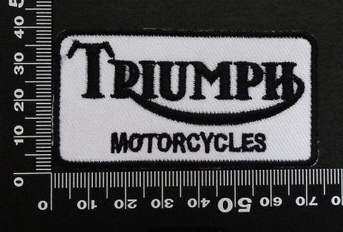 トライアンフ triumph ワッペン パッチ  00446