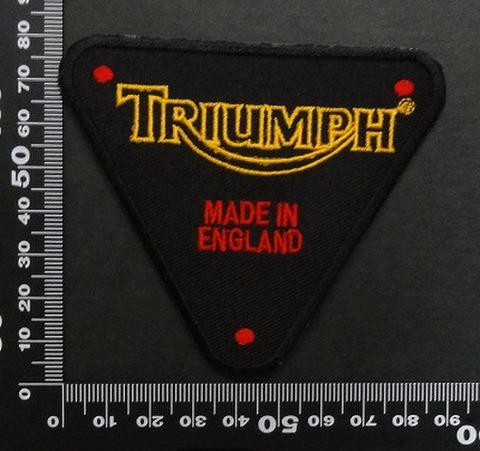 トライアンフ triumph ワッペン パッチ 00615