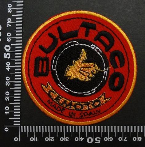 ブルタコ  Bultaco ワッペン パッチ 00459