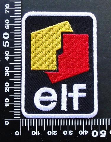 エルフオイル elf ELFOIL ワッペン パッチ 09641