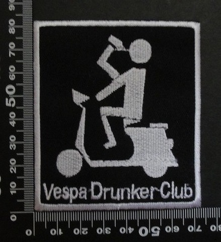 ベスパ VESPA ワッペン パッチ  00473