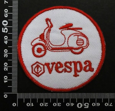 ベスパ VESPA ワッペン パッチ 00625