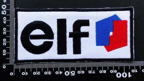 エルフオイル elf ELFOIL ワッペン パッチ  09638
