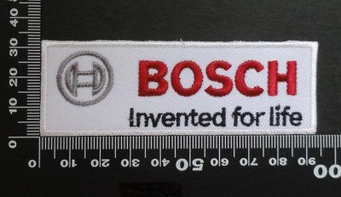 ボッシュ バッテリー BOSCH ワッペン パッチ  00432