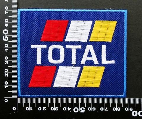 エンジンオイル・ギアオイル TOTAL(トタル) ワッペン パッチ 09818