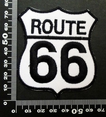 ルート66 Route 66  ワッペン パッチ 00397