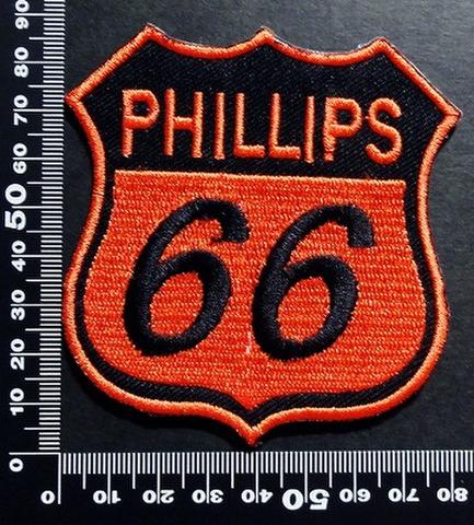 ルート66 フィリップス Route 66 phillips ワッペン パッチ 00363