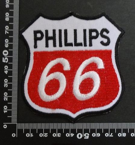 ルート66 フィリップス Route 66 phillips ワッペン パッチ 00426