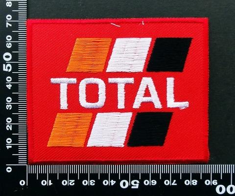 エンジンオイル・ギアオイル TOTAL(トタル) ワッペン パッチ 09821
