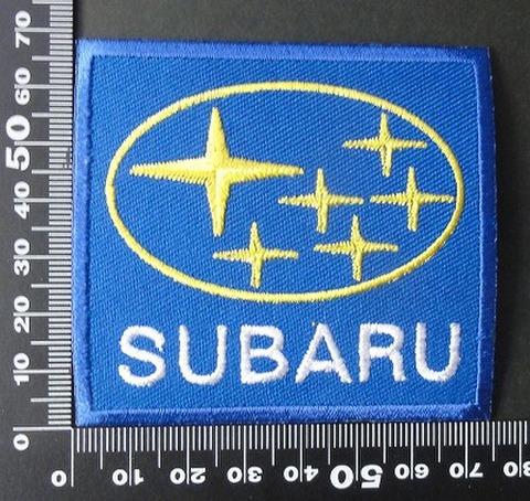 subaru スバル ワッペン パッチ   00764