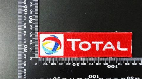 エンジンオイル・ギアオイル TOTAL(トタル) ワッペン パッチ 00772
