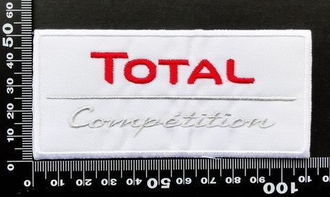 エンジンオイル・ギアオイル TOTAL(トタル) ワッペン パッチ  09820