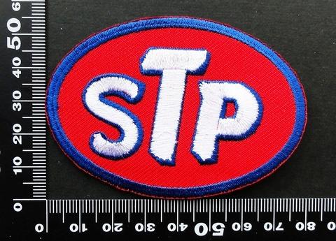 オイル STP MOTOR OIL  ワッペン パッチ  09800