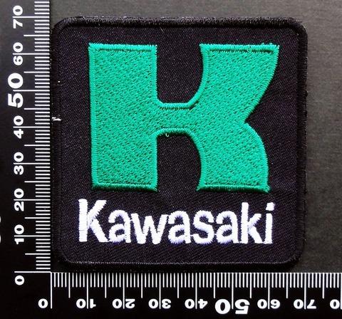 KAWASAKI カワサキ ワッペン パッチ 09520