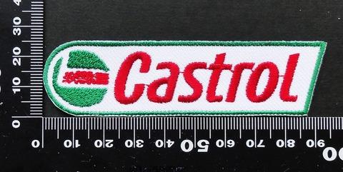 カストロール Castrol ワッペン パッチ 09621
