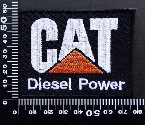 キャタピラ CAT ワッペン パッチ 09518