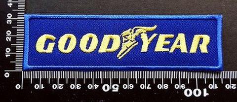 グッドイヤーGoodyear ワッペン パッチ 09658