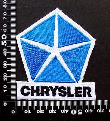 クライスラー Chrysler ワッペン パッチ 09607