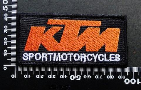 ケーティーエム KTM  ワッペン パッチ 09489