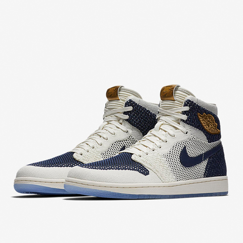 NIKE AIR JORDAN 1 RETRO FLY KNIT JETER/32センチ