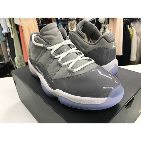 30センチ/NIKE AIR JORDAN 11 RETRO LOW MEDIUM COOL GREY