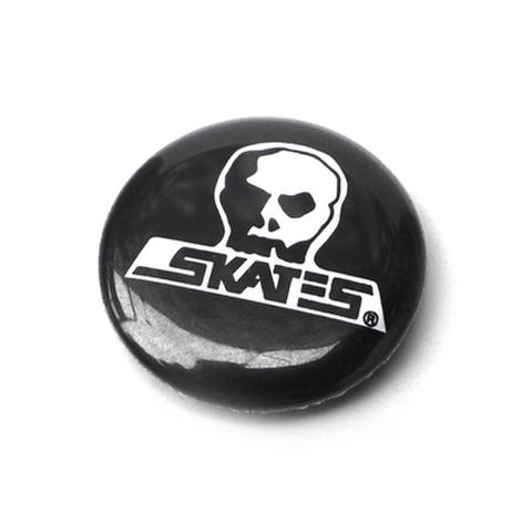 "SKULL SKATES(スカルスケーツ)""スカルロゴ"" 缶バッジ"