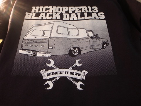 "BLACK DALLAS/HICOPPER13""1980""Tシャツ(BLACK)"