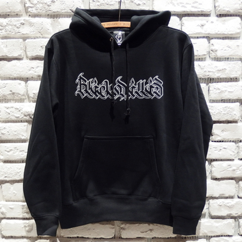 BLACK DALLAS BD KAKUSHIN LOGO パーカー (BLACK)MOZYSKEY