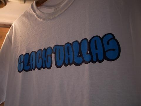 "BLACK DALLAS/ブラックダラス""HEKM LOGO""Tシャツ(WHITE)HEKM/ヘキム"