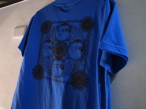 "BLACKDALLAS/ブラックダラス""プラトン曼荼羅""(BLUE/YELLOW/GRAY/RED) Tシャツ Artwork by ESSU/えすう"