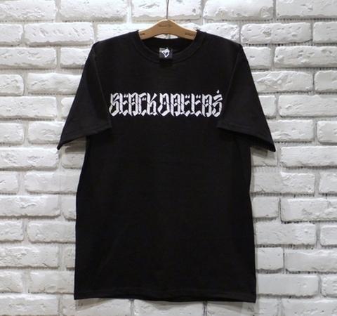 """BLACK DALLAS ブラックダラス """"BAMBOO LOGO"""" Tシャツ Artwork by USUGROW ウスグロ"""
