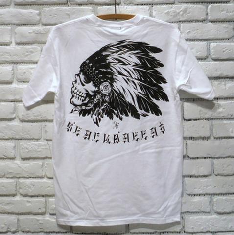 """BLACK DALLAS/ブラックダラス""""BD M/G"""" Tシャツ(WHT・BLK)Artwork by USUGROWウスグロ"""