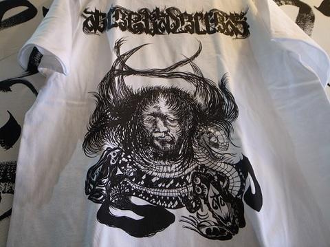 "BLACKDALLAS/ブラックダラス/""覚醒""(WHTxBLK・REDxBLK) Tシャツ Artwork by DENSE/デンス"