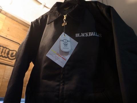 """BLACKDALLAS/ブラックダラス""""ASSASSIN WORK JACKET""""(BLACK)BLUCO/ブルコ別注ワークジャケット"""