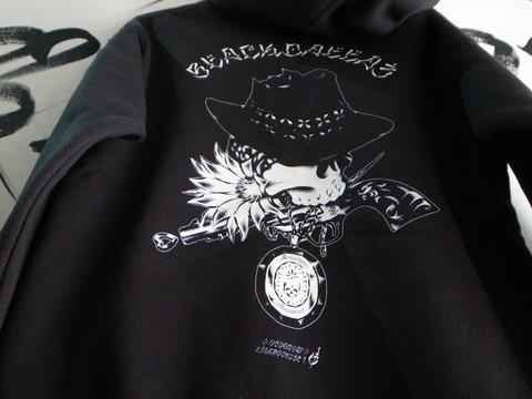 BD JUSTICE ジップパーカー・BLACKDALLASブラックダラスArtWork by USUGROWウスグロ