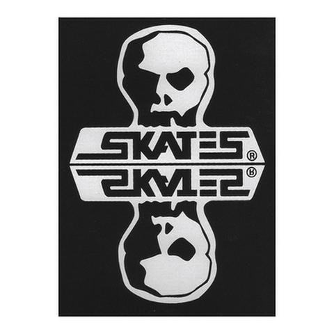 "SKULL SKATES(スカルスケーツ)""Reflection"" ステッカー"