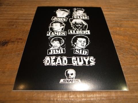 スカルスケーツSKULLSKATES/ステッカー(DEAD GUYS 80S)