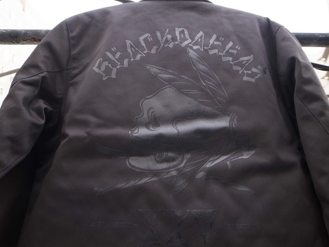 """BLACKDALLAS/ブラックダラス""""BD25/BLACKSKULL"""" BLUCO別注WORK JACKET"""