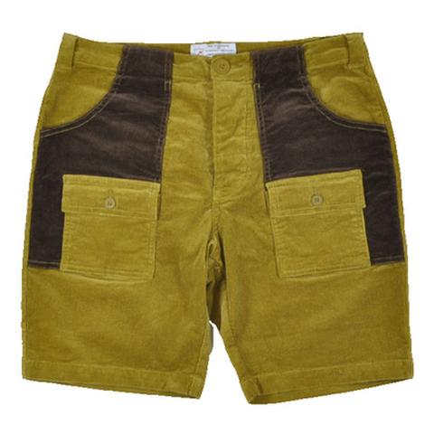 """THE HIGHEST END(ハイエストエンド)""""Corduroy Bush Shorts""""コーデュロイブッシュショーツ(ベージュ)"""