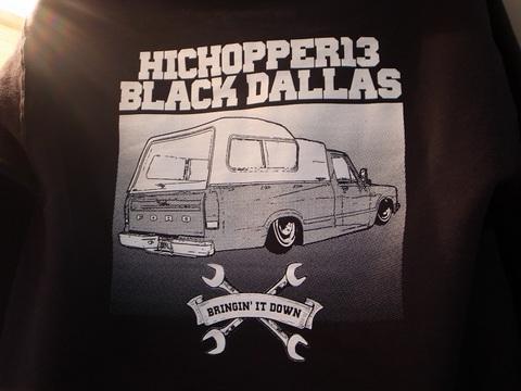 """BLACKDALLAS/HICHOPPER13""""1980""""パーカー(BLACK)"""
