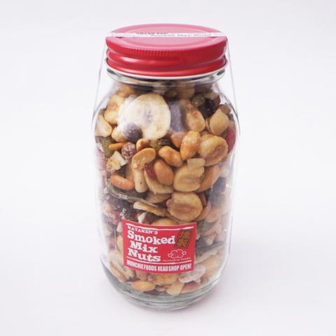 """MUNCHIE FOODS(マンチーフーズ)""""SMOKED MIX NUTS"""" スモークドミックスナッツ(500g)"""