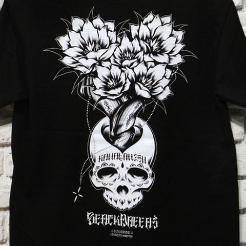 """BLACK DALLAS ブラックダラス""""KANAIANZEN"""" Tシャツ Artwork by USUGROW ウスグロ"""