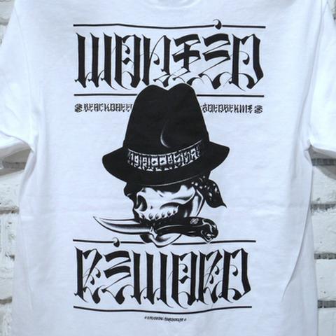 """BLACK DALLAS ブラックダラス """"SCARFACE"""" Tシャツ Artwork by USUGROW ウスグロ"""