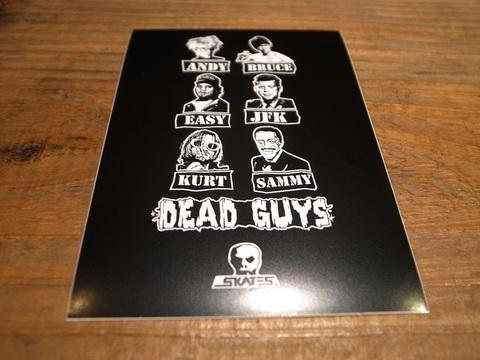 スカルスケーツSKULLSKATES/ステッカー(DEAD GUYS 90S)
