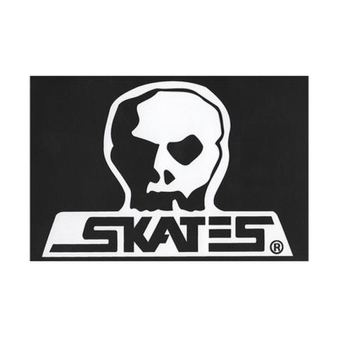 "SKULL SKATES(スカルスケーツ)""ロゴ"" ステッカー(Mサイズ)"