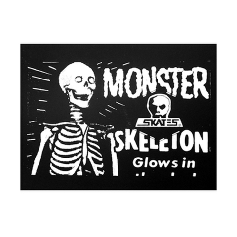 "SKULL SKATES(スカルスケーツ)""MONSTER"" ステッカー"