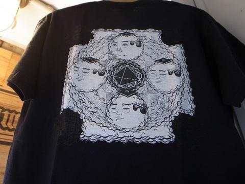 "BLACKDALLAS/ブラックダラス""プラトン曼荼羅""(WHITE/BLACK) Tシャツ ESSU/えすう"
