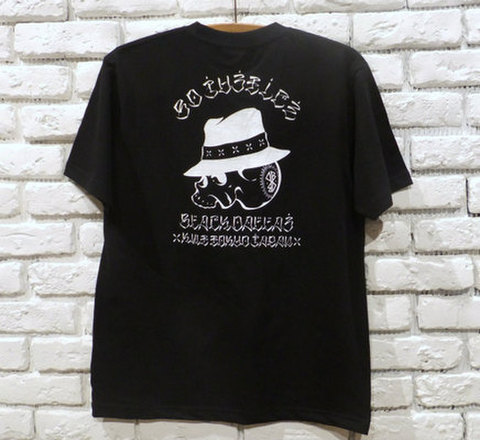 "BLACK DALLAS ブラックダラス ""LOCAL SKULL"" Tシャツ Artwork by USUGROW ウスグロ"