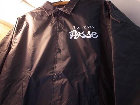 "T&B/TOPBOY""OTA POSSE 18""コーチジャケット(BLACK)"